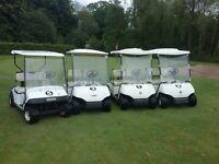 4 x 2002 petrol yamaha/ezgo golf buggies