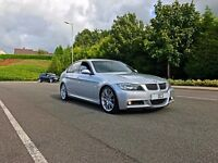 2006 BMW 330D M SPORT AUTOMATIC **WIDESCREEN SAT NAV + HEATED FULL LEATHER SEATS ** GRAB A BARGAIN