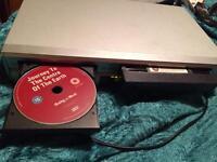 For sale one j v c v h S player / DVD player