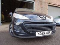 💥59 PEUGEOT 207 S HDI 90 1.6 DIESEL,MOT JULY 017,2 KEYS,PART HISTORY,2 OWNERS,STUNNING EXAMPLE