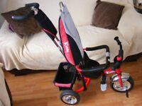 Kiddo Trike 3-wheel bike red