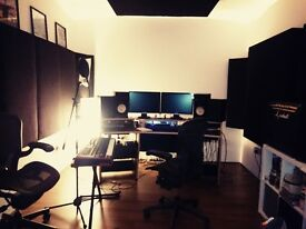 MUSIC RECORDING STUDIO / REHEARSAL ROOM / FULLY SOUNDPROOFED / LIMEHOUSE / MILE END