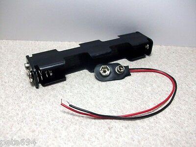 6 Volt DC  Battery Holder 4 x AA  Cells NEW B20