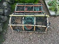 Creel lobster pots