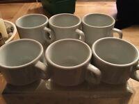6x espresso cups new
