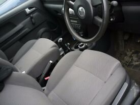 VW FOX 55 FRONT SEATS, 2006-2011