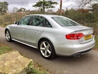 £1000 BELOW RRP !!!! 2009 AUDI A4 S LINE 2.0 TDI + SERVICED + WARRANTY