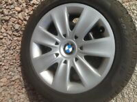 BMW winter tread wheels