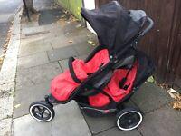 Double pram - Phil & Teds double Stroller