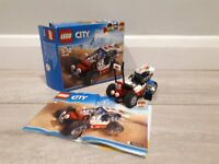 Lego City 60145 Buggy Building Toy. In good condition. Full set, includes instructions.