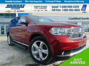 2013 Dodge Durango Citadel AWD *Hemi *Pr moon *Nav *Heated & coo