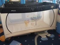Winnie the pooh travel cot only used a couple of times