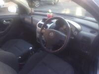Vauxhall Corsa 1.2, reliable good condition. MOT 6 months