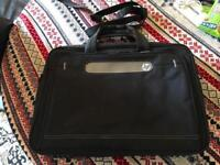 HP laptop shoulder bag black ex condition £10