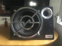"Vibe 12"" car sub built in amp"