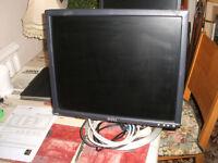 Dell Monitor VGA 19 inch Screen