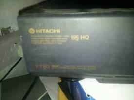 HITACHI F780 NICAM VCR RECORDER DECK