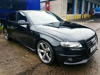 May 2011 Audi A4 2.0 S Line Black Edition 49,600K Full Service History