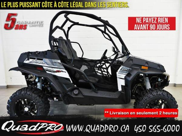 Used 2015 CFMOTO Z-FORCE 800 EX 2500$ DE RABAIS