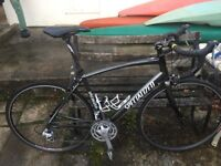 Specialized sector road bike alloy frame carbon fork shimano gears with accessorys open to offers