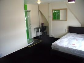 Tunstall/ST6. Double with ensuite shower (10th Dec), All inclusive, Cleaner, internet