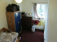 Small room, share with two others in friendly warm house, includes ALL bills, easy free parking