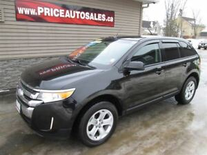 2013 Ford Edge SEL-HEATED LEATHER-SUNROOF-BACKUP CAM!!!