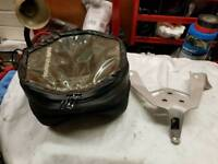 BMW S1000RR 2012 tank bag and Bracket