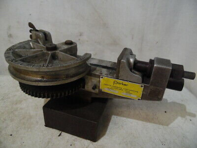 Parker Hannifin Model 412 Manual Crank Pipe Bender Industrial Grade Piping Usa