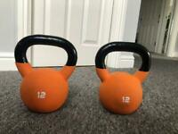 12kg kettlebells