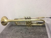 Catelinet CTR14 Trumpet With Case And Cleaning Cloth