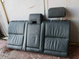 BMW 5 SERIES E61 TOURING REAR SEATS LEATHER BLACK BREAKING BMW HAVING A MASSIVE CLEAROUT