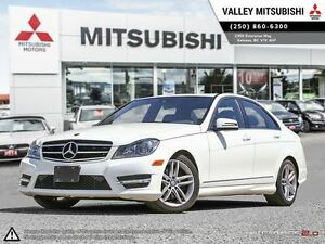 2014 Mercedes-Benz C-Class C300-AWD, LEATHER,SUNROOF,HEATED SEAT