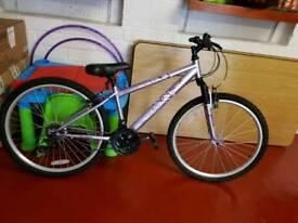 Hardly used girls bike