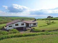 White Oak Farm - auction 3rd of August, John Pye. North Cornwall, Devon border, stunning sea views