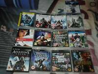 PS3 bundle of games Plus 1 PS4 game