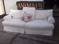 Large White Sofa Fabric covers Delivery Available