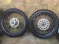 Sm pro wheels and tyres yzf crf ktm rmz