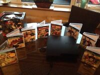 PS3 console controller + games