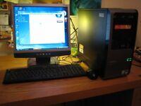Compaq SR5027UK, plus monitor, keyboard & mouse