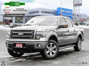 2014 Ford F-150 4WD SUPERCREW-- 4X4 --V8