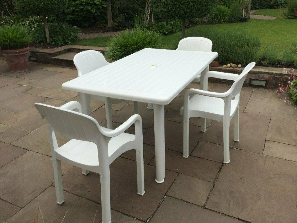 Quality Garden Patio Table Seats 6 Amp 4 Chairs By