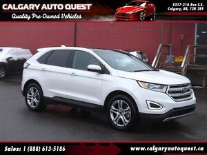 2015 Ford Edge Titanium AWD/NAVI/B.CAM/PANO-ROOF/LEATHER