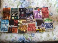 James Patterson ----Alex Cross Series - -first 12 in order