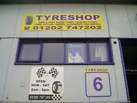 TYRES NEW & PART WORN