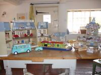 Bundle of Sylvanian Houses, Furniture and Animals