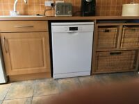 Kitchen units, work tops, oven, hob, sink