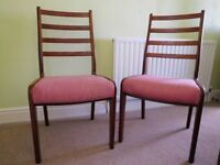 DINING CHAIRS BY G-PLAN