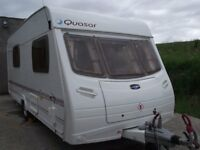 2006 Lunar Quasar 524 4 Berth End Washroom Caravan £4695 (Reduced)