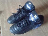 For sale. Boys size 7 football boots.